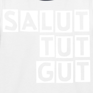SALUT TUT GUT - Kinder Baseball T-Shirt