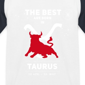 taurus bull zodiac horoscope signs astrology - Kids' Baseball T-Shirt