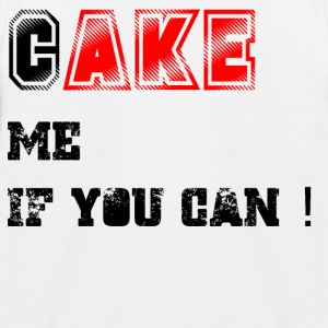 Cake_me_if_you_can3 - Kinder Baseball T-Shirt