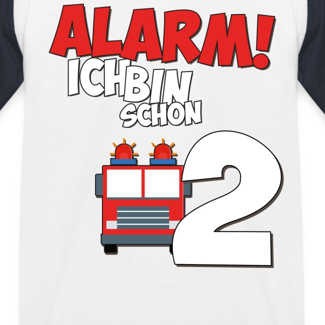 Feuerwehrauto 2. Geburtstag Jungen 2 Jahre