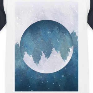 vinter Mood - Baseboll-T-shirt barn