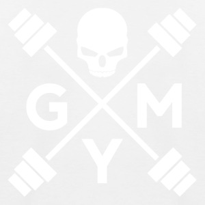 gym Skull - Baseball-T-skjorte for barn