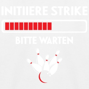 Bowling Strike - Kinder Baseball T-Shirt