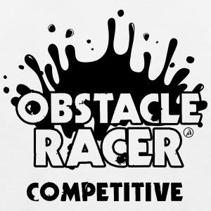 Obstacle Racer Competitive - Kids' Baseball T-Shirt