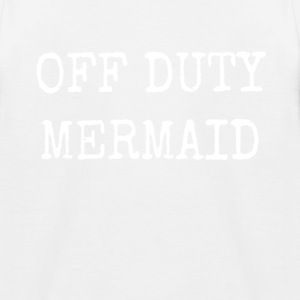 OFF DUTY MERMAID - Kids' Baseball T-Shirt