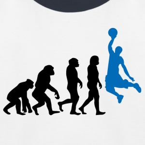++ Basketball Slam Dunk Evolution ++ - Kinderen baseball T-shirt
