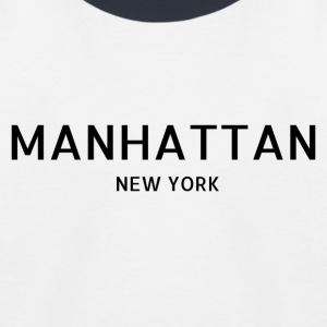 Manhattan - Baseball-T-skjorte for barn