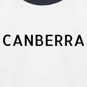 Canberra - Kinder Baseball T-Shirt