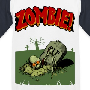 Zombie! - Kinder Baseball T-Shirt
