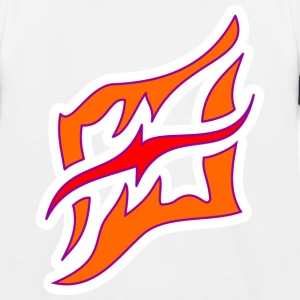 + Flame_DesASD - T-shirt baseball Enfant