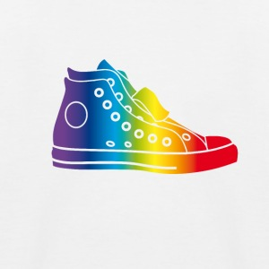 sneaker_bunt sneaker hipster gay rainbow colorful - Kids' Baseball T-Shirt