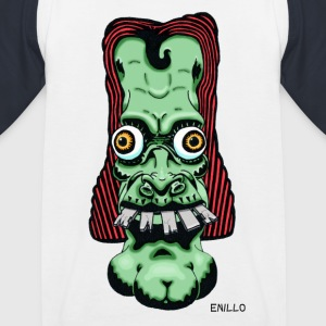 Enillo head Comicstyle Psychedelic - Kids' Baseball T-Shirt