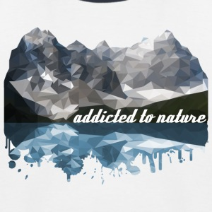 addicted to nature - Kids' Baseball T-Shirt