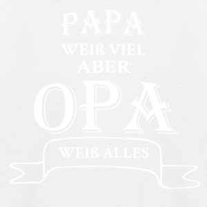 opa alles - Kinder Baseball T-Shirt