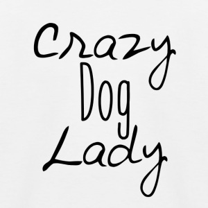 Crazy dog Lady - Kinder Baseball T-Shirt
