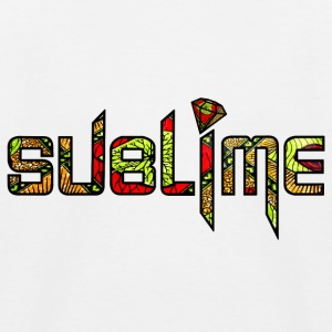SUBLIME AFRO 1 - Baseboll-T-shirt barn