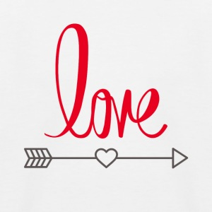 Love design - Baseball-T-skjorte for barn