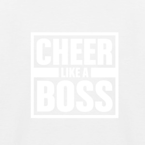 Cheer like Boss - Cheerleading - Kids' Baseball T-Shirt