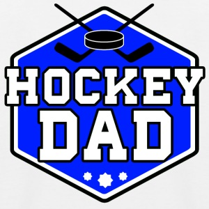 Hockey Dad - Kinder Baseball T-Shirt