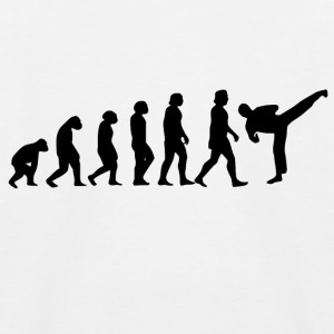 Karate Evolution - Kinder Baseball T-Shirt