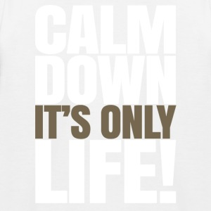 Calm Down Il est Only Life - T-shirt baseball Enfant