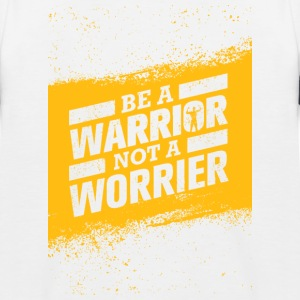 WARRIOR ingen Worrier - Baseboll-T-shirt barn