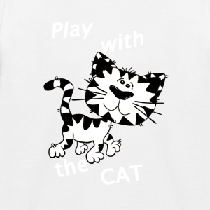 Play_Cat_Wei - 3 - Kinderen baseball T-shirt