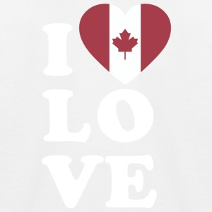 I love Canada - Kinder Baseball T-Shirt