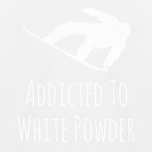 Addicted to White Powder - Kinder Baseball T-Shirt
