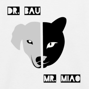 Dr. Bau and Mr. Miao - Kids' Baseball T-Shirt