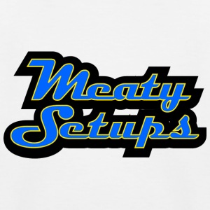 Meaty Setups - Kids' Baseball T-Shirt