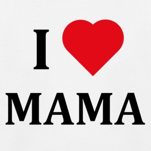 ++ I LOVE MAMA ++ - Kids' Baseball T-Shirt