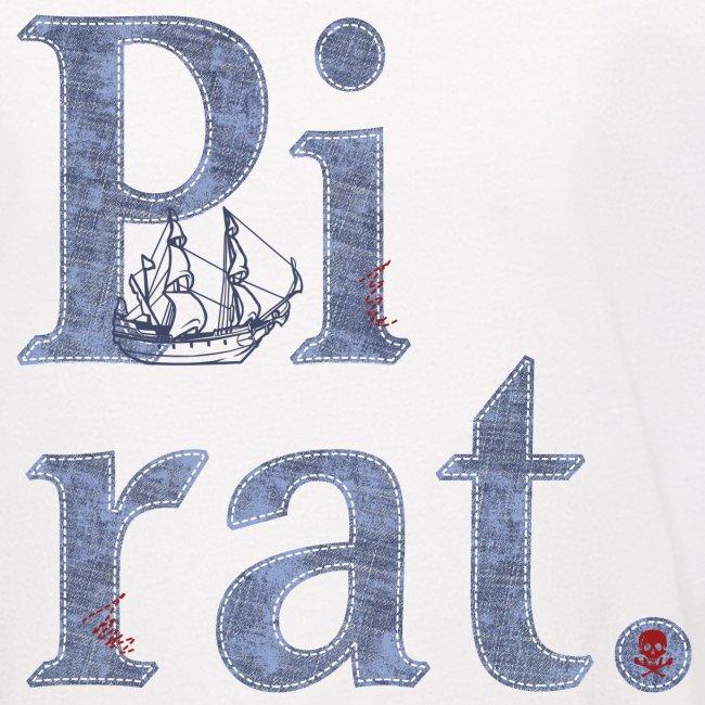 Pirat mit Schiff