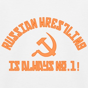 Russian Wrestling No.1 - Kids' Baseball T-Shirt