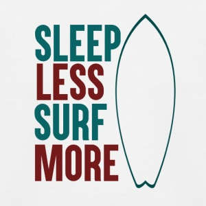 Sleep Less - Surf More - Kinder Baseball T-Shirt