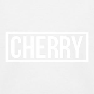 Cherry Hvit - Baseball-T-skjorte for barn