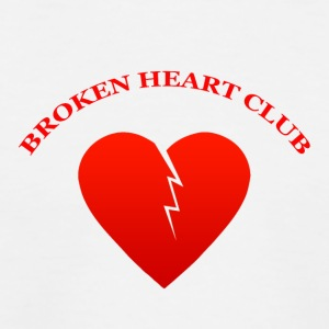 Broken Heart Club - Baseboll-T-shirt barn