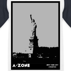 AZONE liberty poster - Kids' Baseball T-Shirt