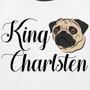 King Charlsten logo color - Kids' Baseball T-Shirt