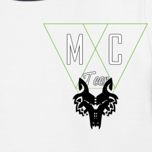 M.C.Tees Logo on our new collection - Kids' Baseball T-Shirt