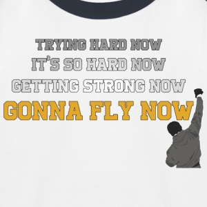 Gonna Fly Now - Rocky - Baseboll-T-shirt barn