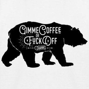 GimmeCoffee - Kinderen baseball T-shirt