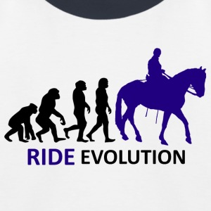 ++ ++ Ride Evolution - Baseball-T-skjorte for barn