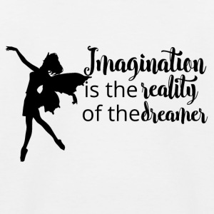 Imagination is reality - Kids' Baseball T-Shirt