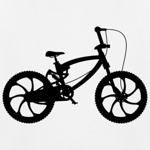 BMX / Sykkel / sykkel design for Skate Park Biker - Baseball-T-skjorte for barn