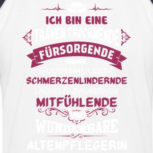 Altenpflegerin - Kinder Baseball T-Shirt
