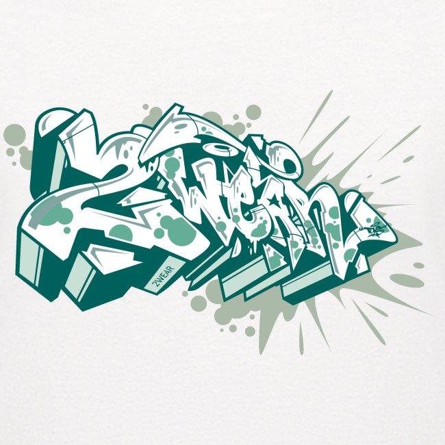 Dae 2Wear graffiti style ver2 Green edt