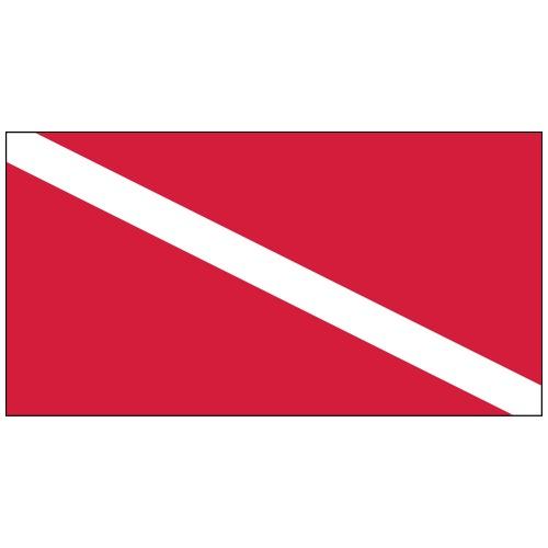 Taucherflagge AI - Gürteltasche