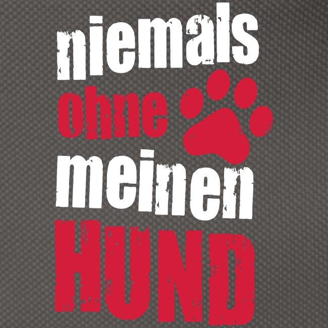 Vorschau: niemals ohne meinen hund - Gürteltasche