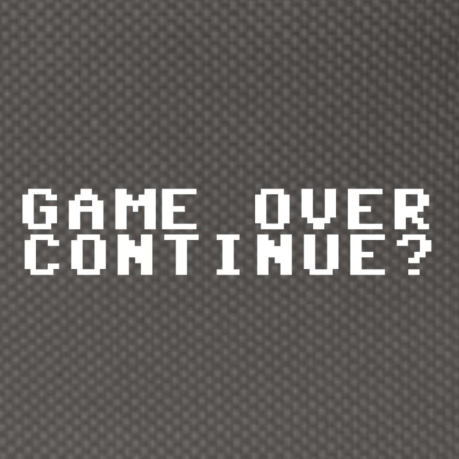Offisiell Tullerusk Merch: Game over continue?